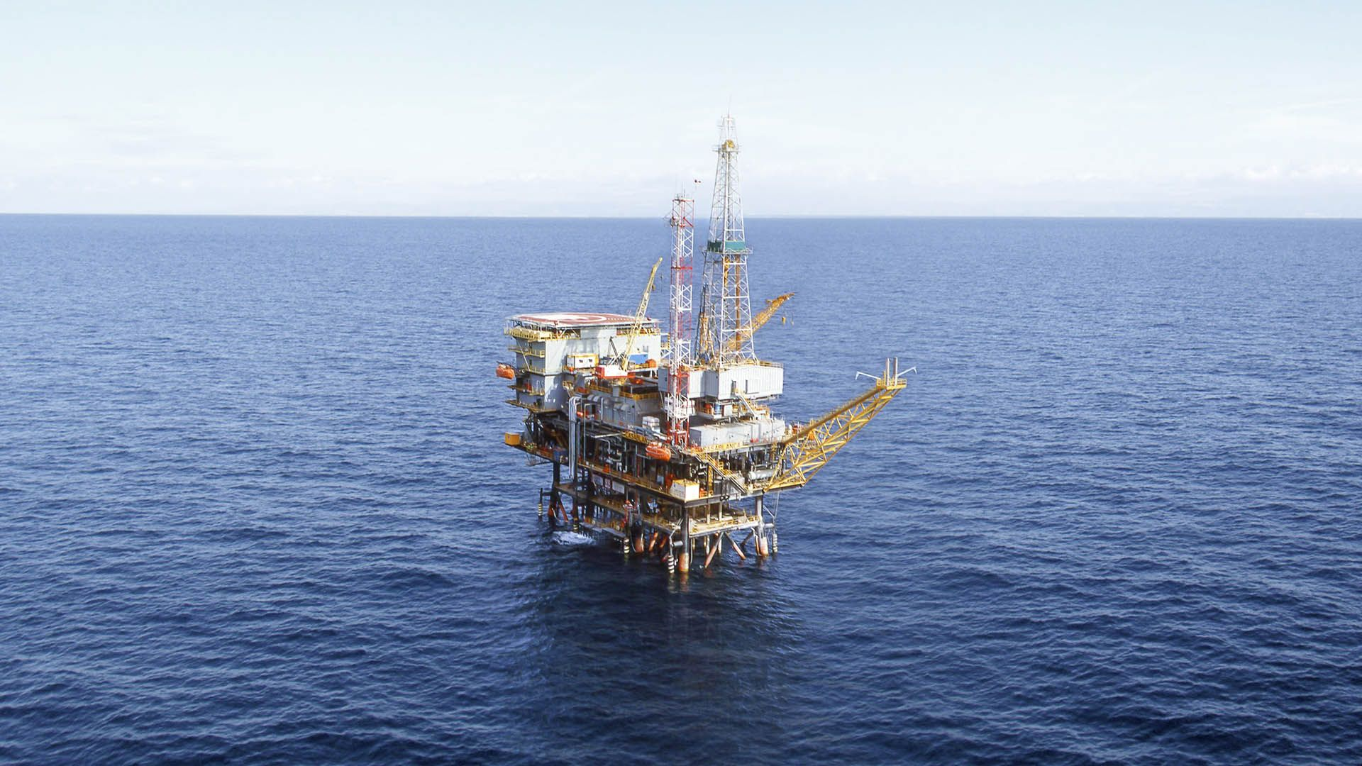 Casablanca Offshore Platform in Spain in operation